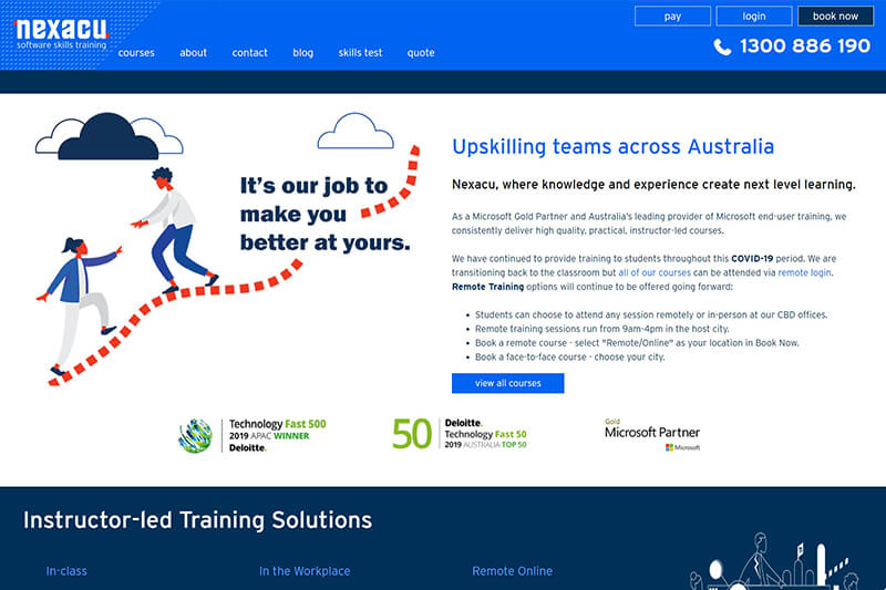 Microsoft Excel Online Training Courses by Nexacu